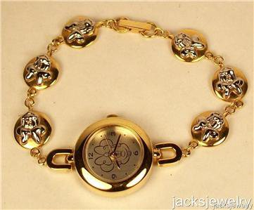 New Disney Bracelet Minnie Mouse Watch! Hard To Find!