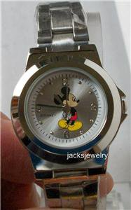 Disney New Ladies Mickey Mouse Watch! Gorgeous! Mickey on Dial! Free Gift