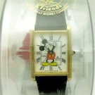 New Disney Lorus Roman Numerals Mens Mickey Mouse Watch! Hard To Find!
