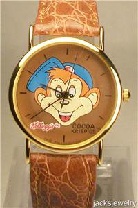 New Kelloggs Cocoa Krispies Character Watch!! Hard To Find!