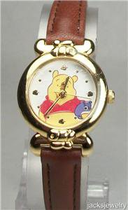 New Disney Ornate Bezel Winnie Pooh Watch! Hard To Find!