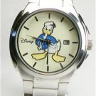 Disney Calendar Mens Donald Duck Watch! New Gorgeous!