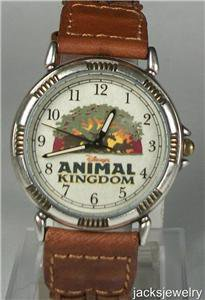 New Disney Limited Edition Animal Kingdom Watch! Retired! Hard To Find!