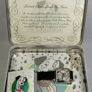 Disney Productions Limited Edition 101 Dalmations Watch! Brand-New! + Pin!