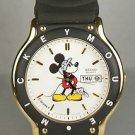 New! Disney Sports Mens Seiko Mickey Mouse Watch! HTF