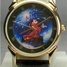 Disney Extremely Rare Artist Lassen Sorcerer Mickey Mouse Watch! New! HTF!