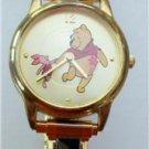 Disney Stunning Piglit Winnie Pooh Italian Charm Watch! New!