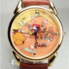 New Disney Two Gun Mickey Mouse Watch! Hard To Find!