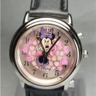 New Disney Funamation Animated Minnie Mouse Watch! Hard To Find! Legs Move!