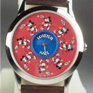 Disney Stunning Scatterball  Animated Mickey Mouse Watch! New! HTF!