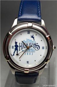 New Disney Rare Limited Edition Peter pan Watch! HTF!