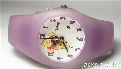 New Disney Rare Animated Winnie Pooh Watch! Bees Move! HTF!