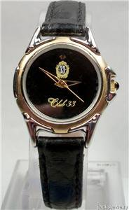 New Disney Watch Extremely Rare Ladies Disney Club 33 Watch! Hard To Find!