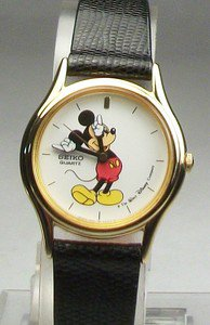 Disney Stunning Ladies Seiko Mickey Mouse Watch! New! Free Gift & Watch