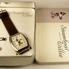 Disney Stunning Steamboat Willie Mickey Mouse Watch! New! Free Gift & Watch