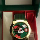 New Disney Mickey Mouse Christmas Watch! With Date! HTF! Free Gift &  Watch!