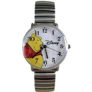 Disney New Winnie Pooh Watch With Expansion Band! Beautiful!