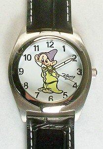 Disney New Very Rare Dopey Watch! Free Gift + Watch! Watch Hands Glow in Dark!