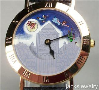 New Disney Pedre Animated Peter Pan Watch! Hard To Find!
