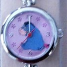 Disney New Eeyore Bracelet Watch! Ultra-Rare! Flower Bracelet Band!