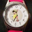 Brand-New Disney Points To Time Ingersoll Pinnochio Watch! HTF!