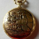 Brand-New Disney Engineer Mickey Mouse Pocket Watch! Stunning! HTF!
