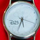 New Disney Company D Cast Members Only Large Dial Mens Mickey Mouse Watch! HTF!