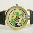 Brand-New Disney St. Patrick's Day Irish Mickey Mouse Watch! Very Rare! Wow!