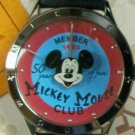 Brand-New Disney Anniversary Mickey Mouse Club Watch! Collectors Pin! HTF!