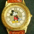Brand-New Disney Pulsar Mens Mickey Mouse Watch W/Date! HTF! Stunning!