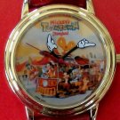 Brand-New Disneyland Toon Town Mickey Mouse Watch! With Disney Gang! HTF!