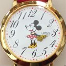 Brand-New Disney Points To Time Large Dial Minnie Mouse Watch! HTF! Retired!