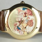 Disney Limited Edition Dwarves Snow White Watch! New! HTF! Free Gift & Watch!