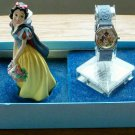 Brand-New Disney Special Edition Snow White Watch + Sculpture! HTF! Beautiful!