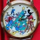 Brand-New Disney Limited Edition Disney Gang and Mickey Mouse Christmas Watch!