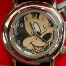 New Disney Flip Top Mickey Mouse Watch! Retired! HTF!~ Unique! Adorable!