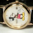 New Disney Ladies Seiko Mickey Mouse Watch! With Date! Mother of Pearl!