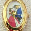 Brand-New! Rare! Disney Beauty and the Beast Watch! Oval Bezel! HTF! Retired!