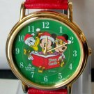 Disney Christmas Mickey Mouse Watch! New! Hard To  Find!