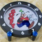 Disney Backwards Goofy Clock in Original Packaging! HTF! Very Rare! Backwards!