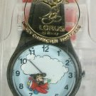 New Disney Lorus Flying Animated Mickey Mouse Watch! Mickey Flys Plane! HTF!