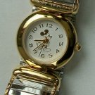 New! Disney Elegant Ladies Mickey Mouse Watch With Expansion Band! HTF!