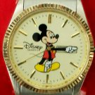 New Disney Mens Mickey Mouse Watch! With Date! Stunning! Retired!