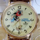 Disney Lorus Animated Three Little Pigs Watch! New! Hard To  Find!