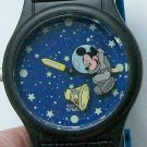 New Disney Animated Astronaut Mickey Mouse Watch! HTF! Retired!
