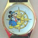 Disney Gold Explorer Mickey Mouse Watch! New Hard To  Find