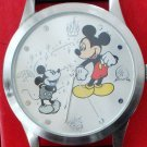 """Brand-New Disney Limited Edition Mickey Mouse Watch! HTF! 1-1/2"""" Large Dial!"""