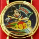 Brand-New Disney Artists Millenium Mickey Mouse Watch! Original Case! HTF! RARE