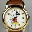 New! Disney Points To Time Mens Mickey Mouse Watch! HTF!