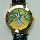 Brand-New Disney Wizard of OZ Watch! Dorothy on Yellow Brick Road! HTF! Cute!